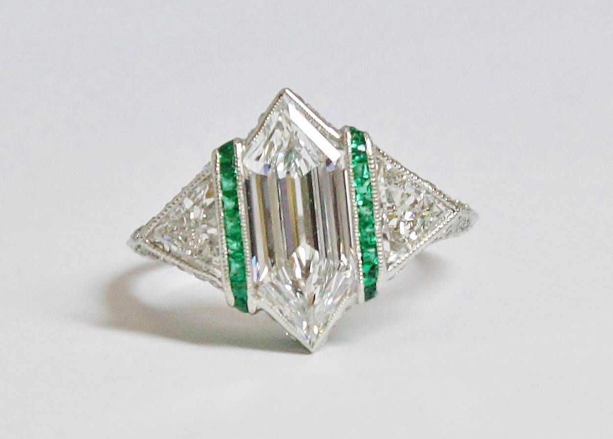 Art Deco Engagement Ring - Denver. CO