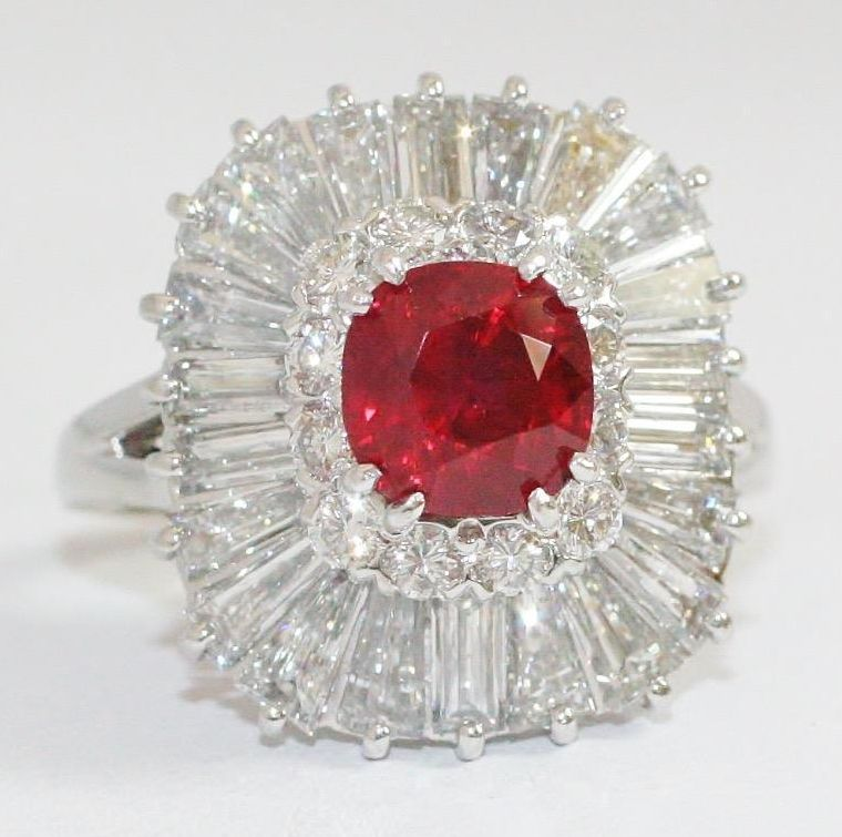Sell Ruby Diamond Ring