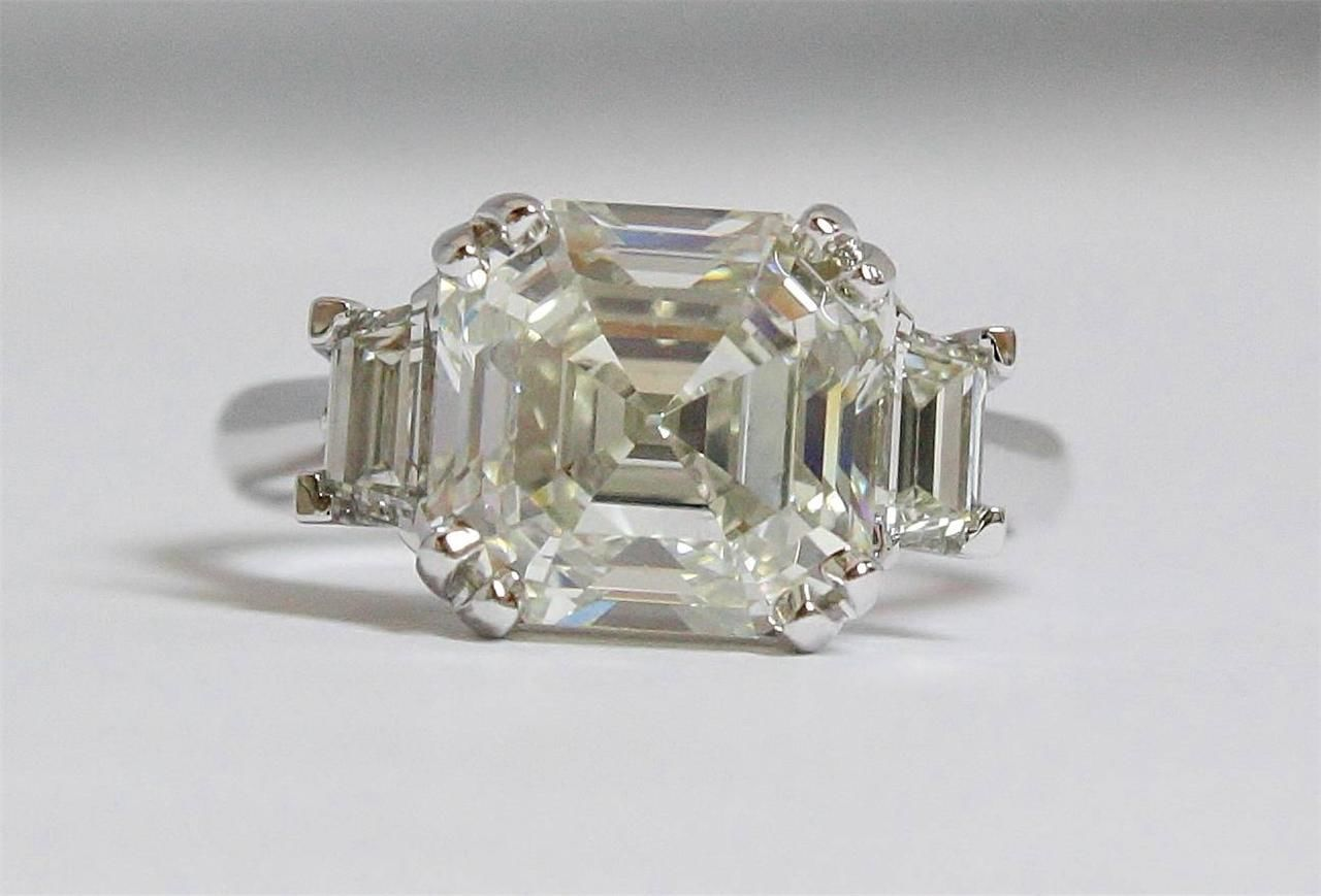 5ct Asscher Cut Diamond - Denver, CO