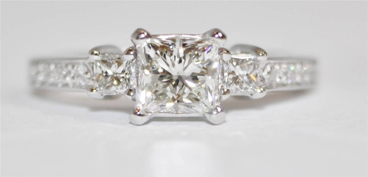 Tacori Princess Cut Diamond Ring