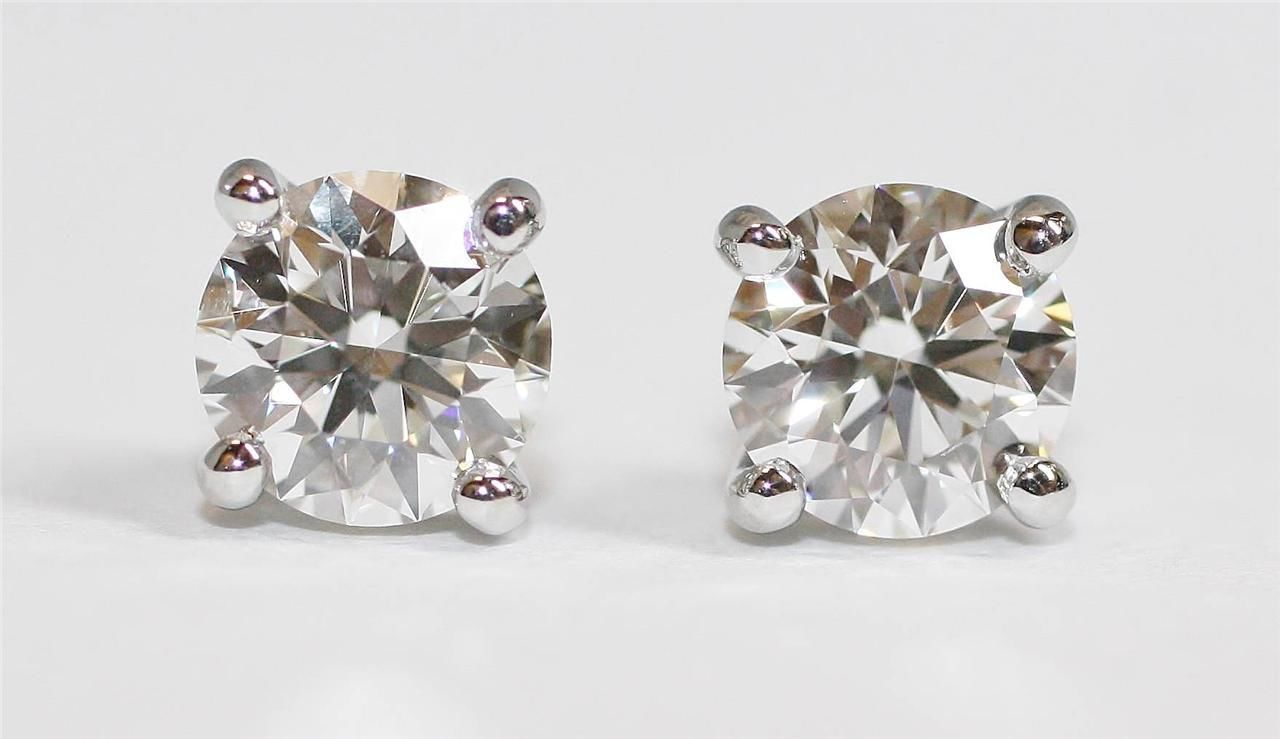 Tiffany Diamond Studs Earrings