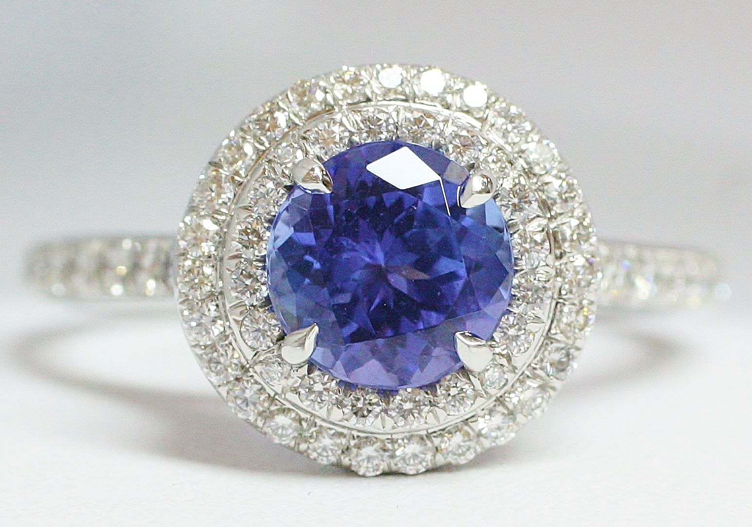Tiffany Tanzanite Ring